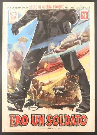 Ero un Soldato - So War Der Deutsche Landser | Original Vintage Poster |  Chisholm Larsson Gallery