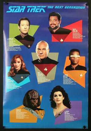 Star Trek The Next Generation Character List