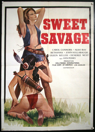 Vintage carol connors aldo ray sweet savage 1978 3