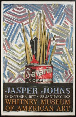 Jasper Johns - Whitney Museum of American Art,  Savarin Coffee - Painted Bronze
