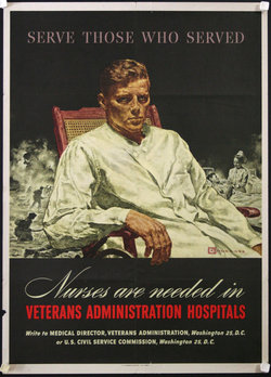 Nurses are Needed in Veterans Administrtion Hospitals - Serve Those Who Served