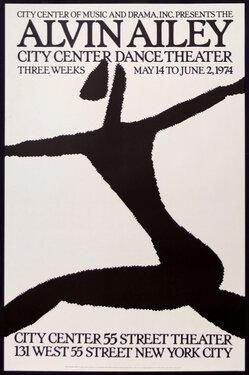 Alvin Ailey - City Center Dance Theater 1974