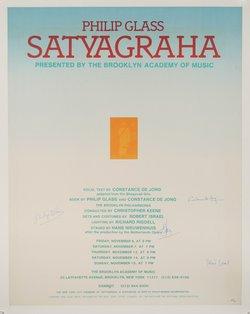 Philip Glass - Satyagraha  Brooklyn Academy of Music