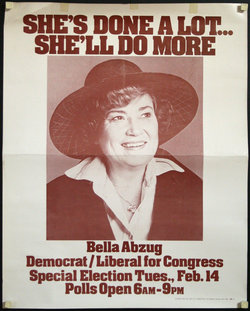 She's Done A Lot...She'll Do More, Bella Abzug