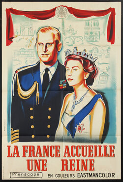 La France Accueille une Reine (Queen Elizabeth and Prince Philip)