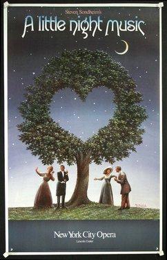 New York City Opera - Steven Sondheim's - A Little Night Music - Lincoln Center