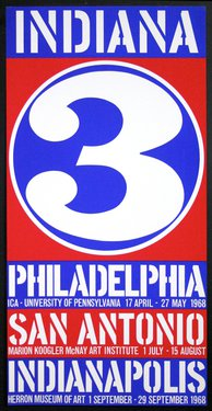 Robert Indiana - 3 Philadelphia - San Antonio - Indianapolis